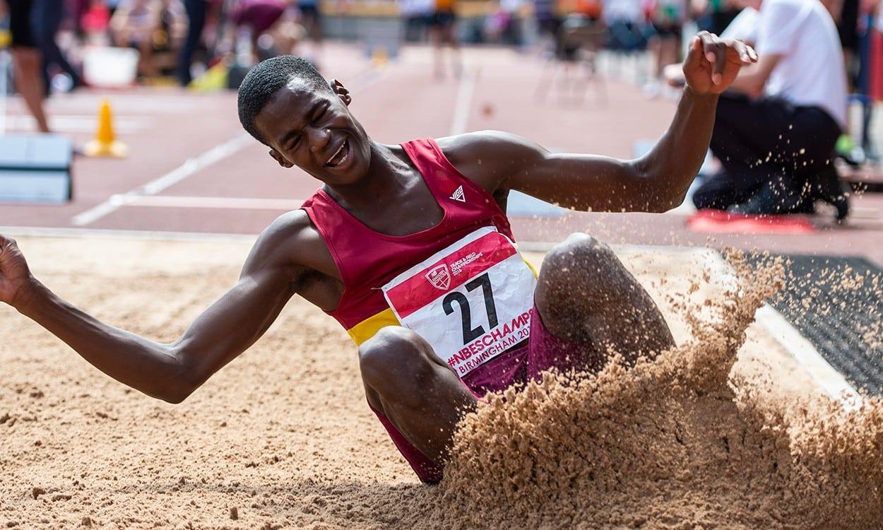 Athletes shine at English Schools on 'field finals Friday'