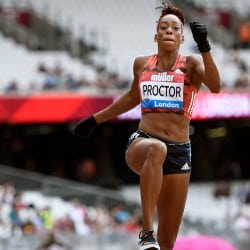 Shara Proctor soars to London long jump win