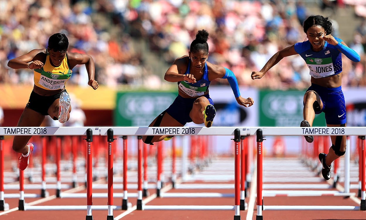 Thrills and spills on final day at World U20 Champs