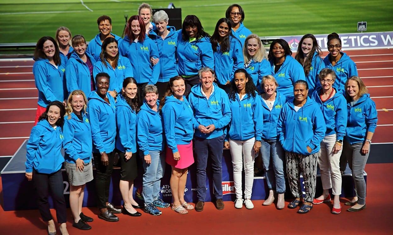 Women in World Athletics members meet in London