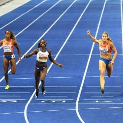 Dina Asher-Smith's double delight after 200m win in Berlin
