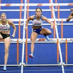 Katarina Johnson-Thompson enjoys strong heptathlon start in Berlin