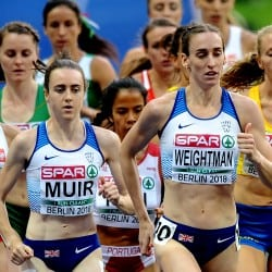 Golden night for Laura Muir and GB 4x100m women in Berlin
