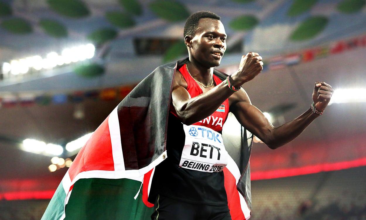 Former world 400m hurdles champion Nicholas Bett dies
