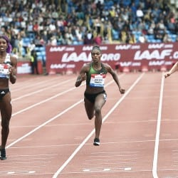 Shaunae Miller-Uibo wins sprint showdown in Birmingham