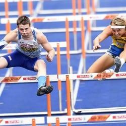 Tim Duckworth holds on to decathlon lead in Berlin
