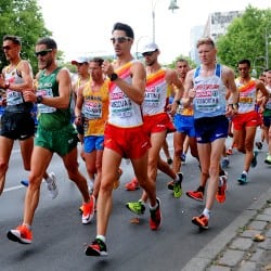 Spain gains race walk double as Tom Bosworth is seventh in Berlin