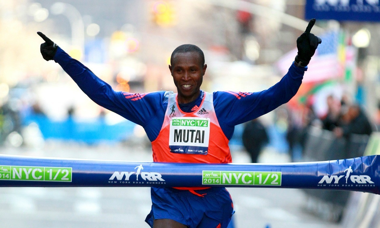 Mutai beats fallen Farah in NYC Half