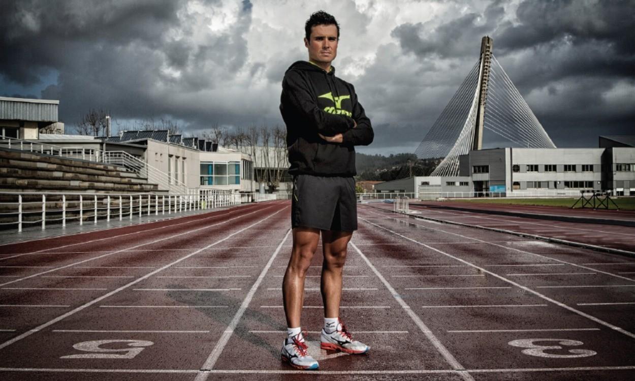 Javier Gomez Noya joins Mizuno on road to Rio