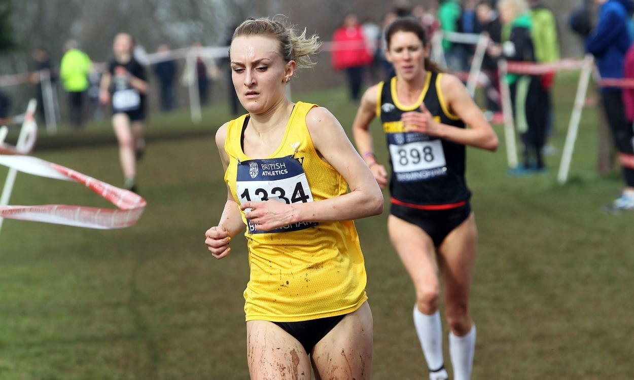 Lily Partridge at Birmingham Cross Challenge