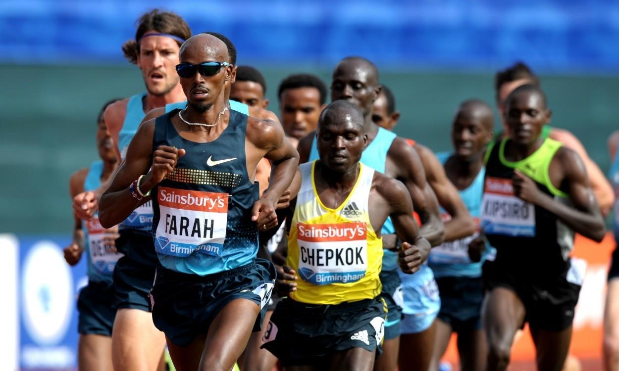 Mo Farah to run at Glasgow Diamond League