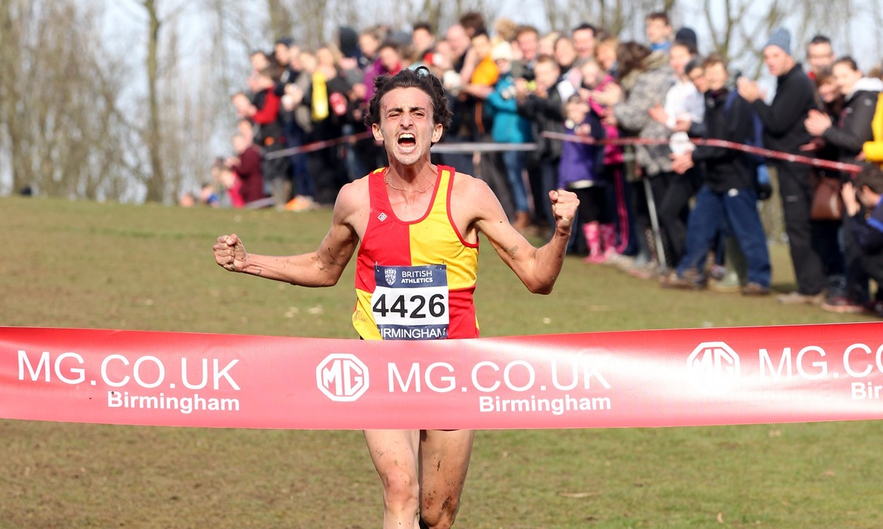 Richard Goodman at Birmingham Cross Challenge