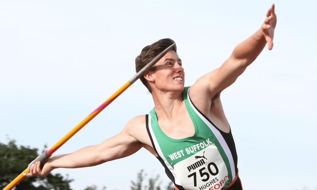 Young athlete –  Harry Hughes