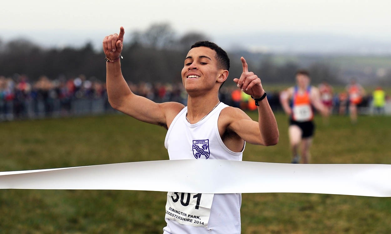 Shirling and Griffiths among English Schools Cross Country winners