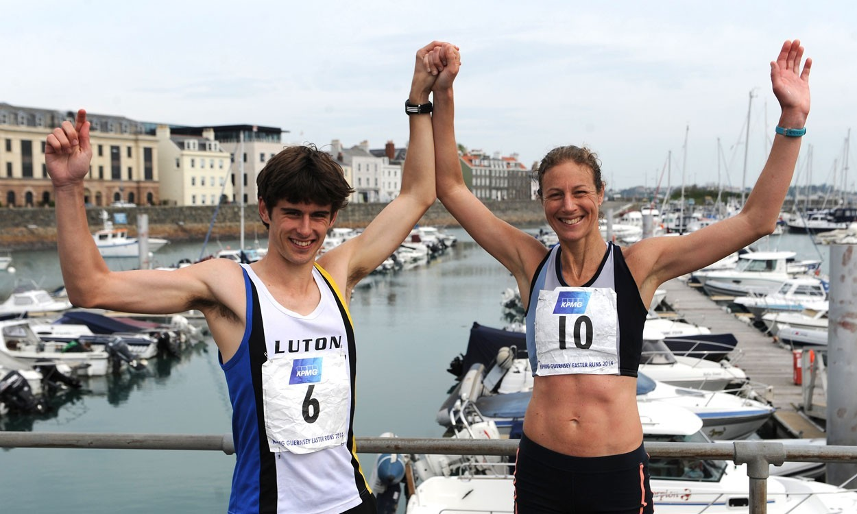Dan Woodgate and Helen Dyke victorious in Guernsey