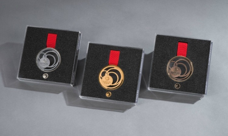 Glasgow 2014 Gold Silver and Bronze Medals