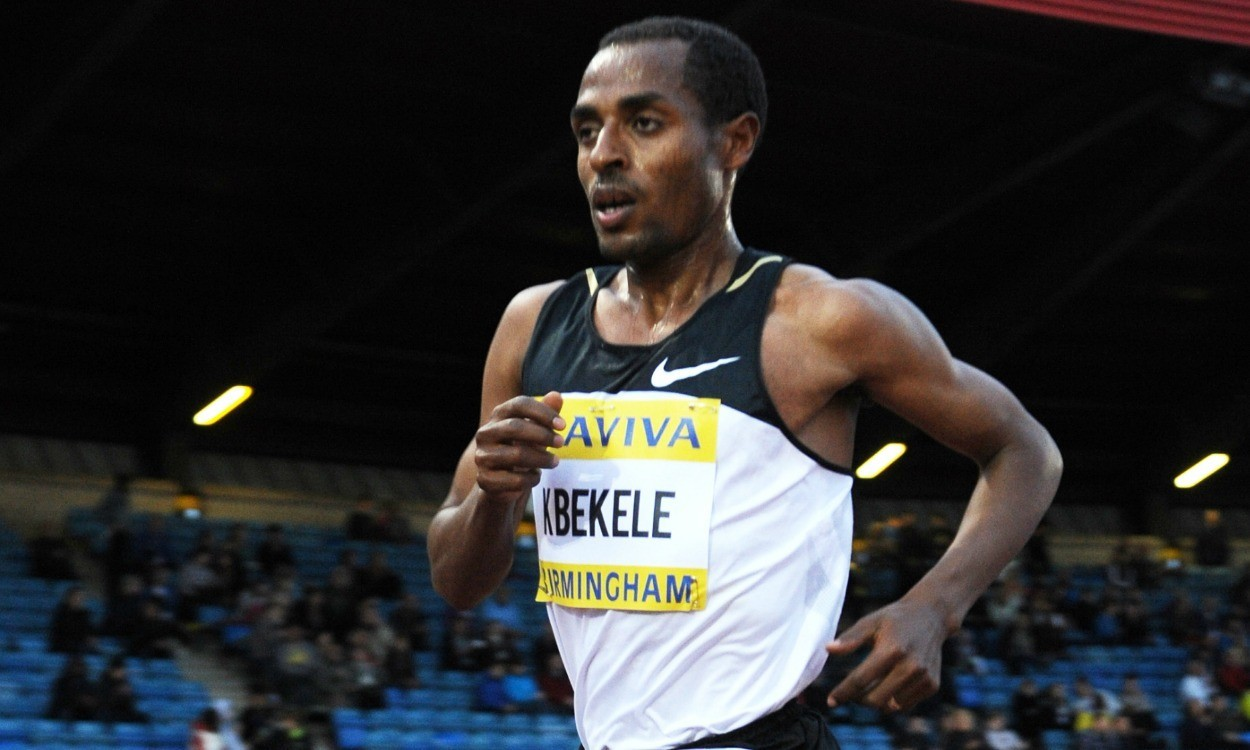 Win a T-shirt signed by Kenenisa Bekele