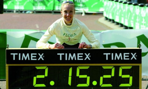 From the AW archive: Paula Radcliffe's world marathon record
