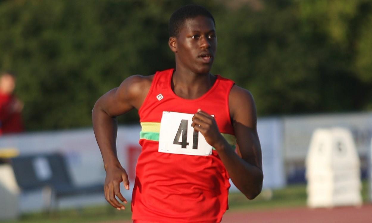 Young athlete – Reuben Esien
