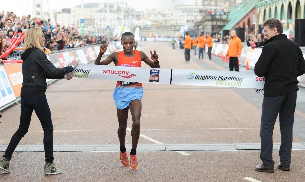 Kenyans take wins at Brighton Marathon