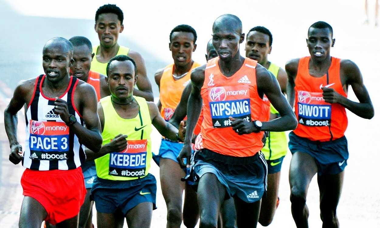 "Wilson Kipsang says he'll have to work ""extra hard"" to win again in London"