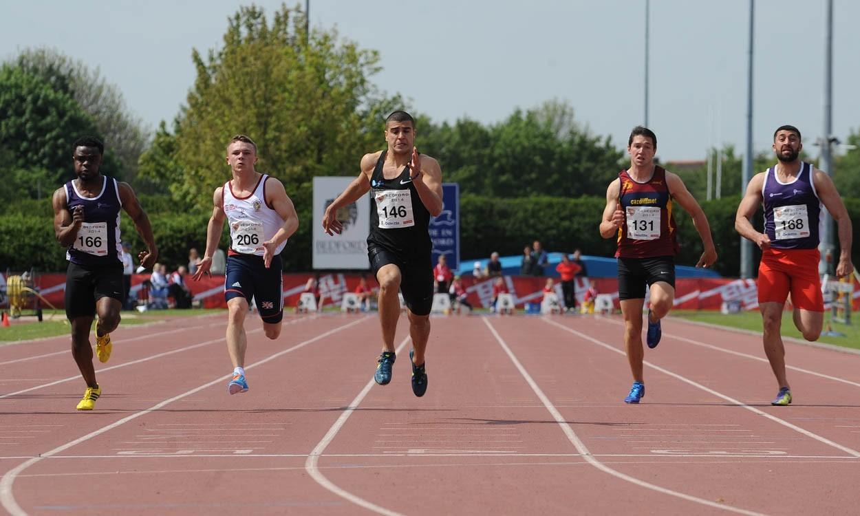 Adam Gemili sprints to BUCS gold