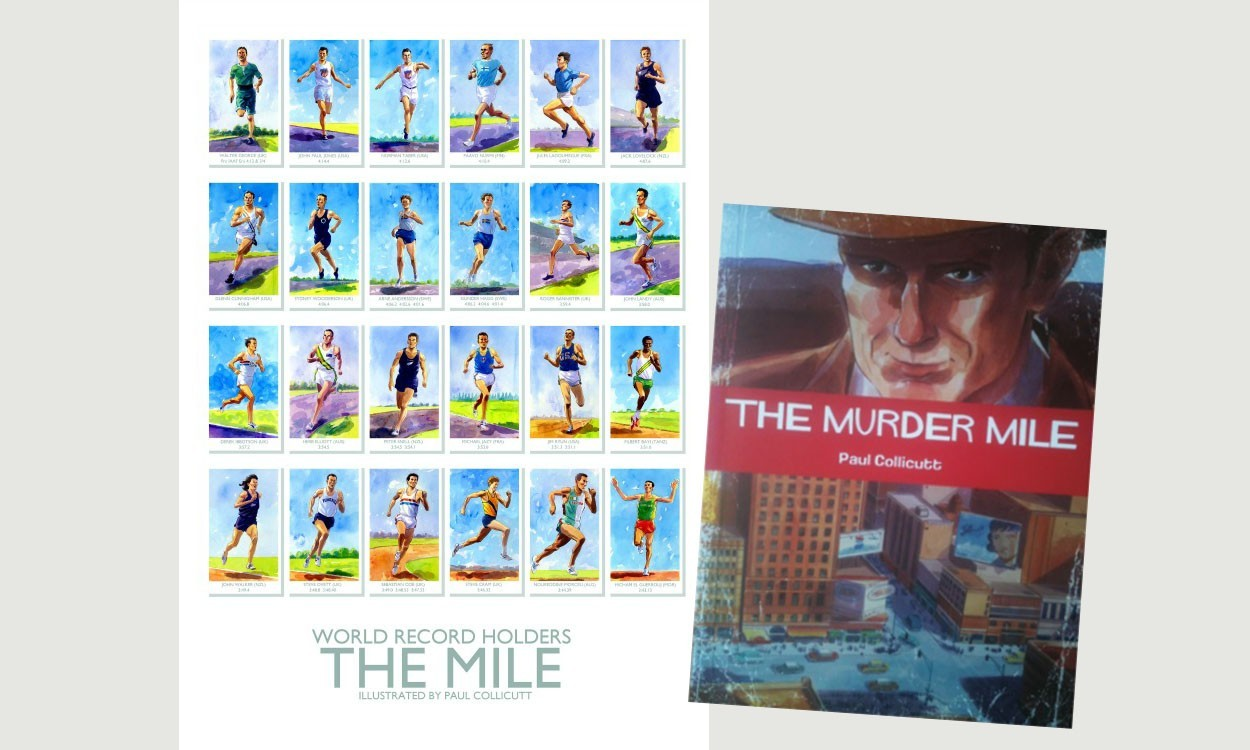 Win a supermiler poster plus a copy of 'The Murder Mile'