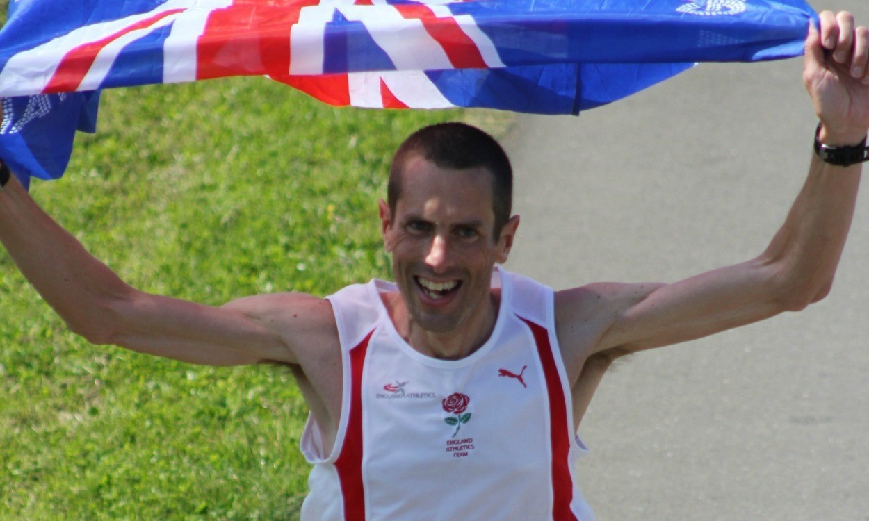 Steve Way clocks British 100km best