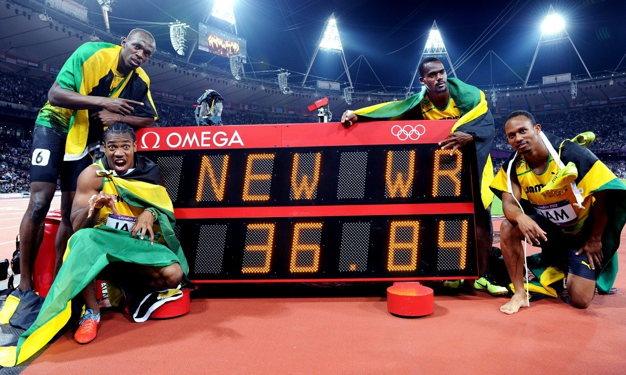 Records there for the breaking at World Relays