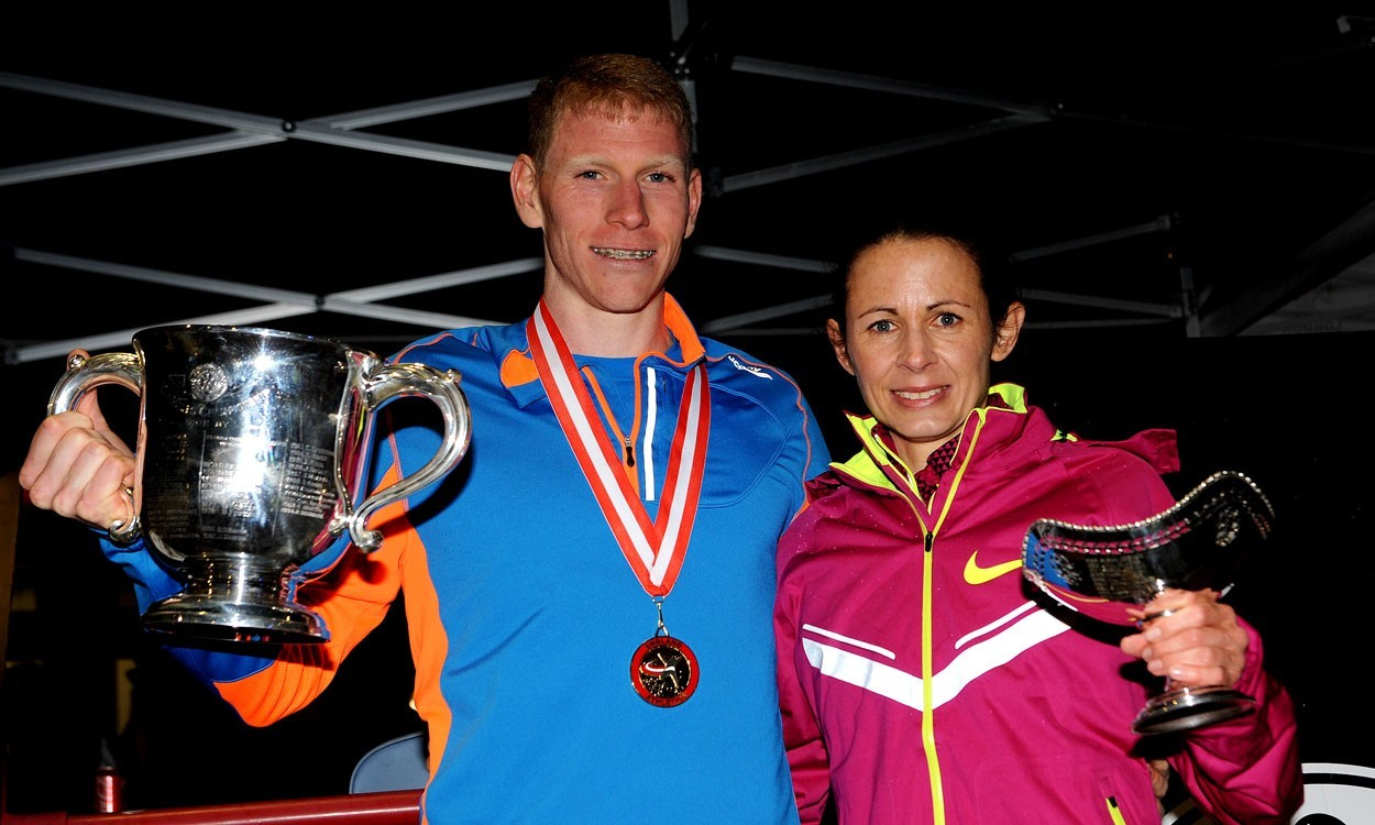 Vernon and Pavey take British 10,000m titles