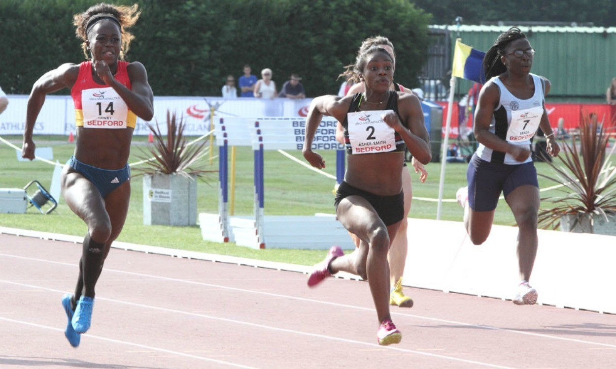 Athletes impress on first day in Bedford