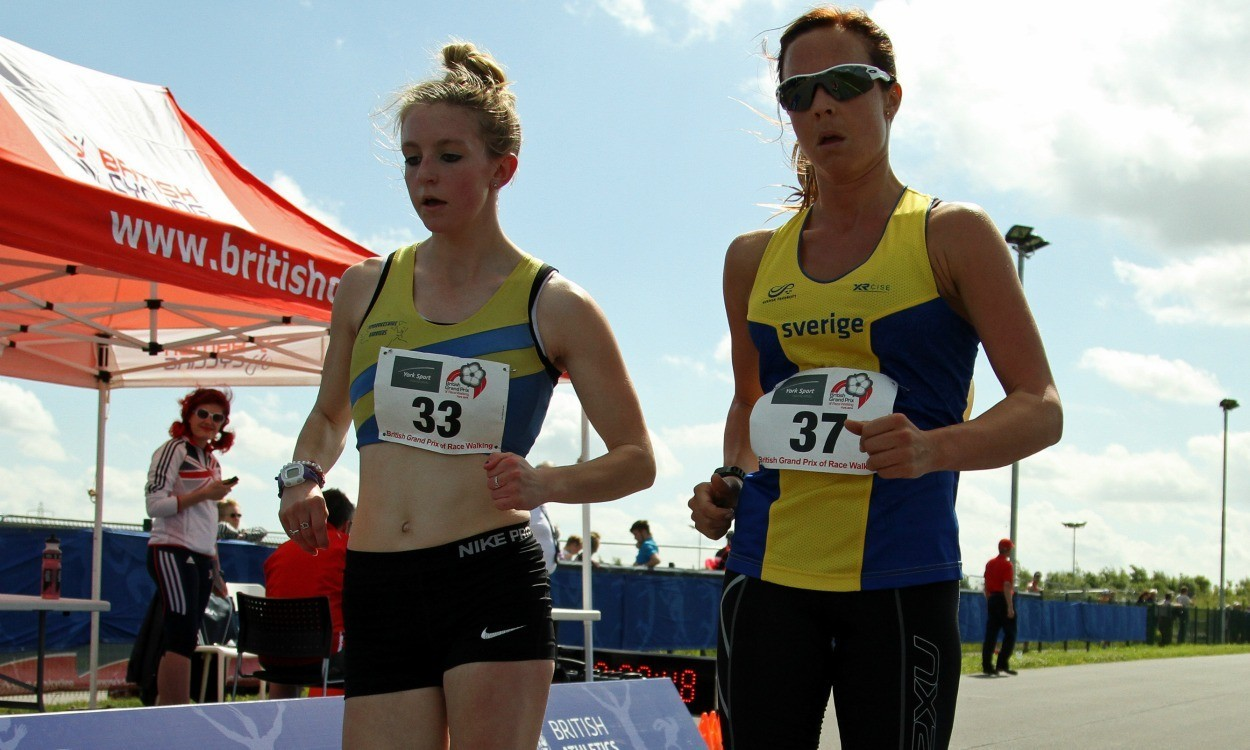 Heather Lewis and Dane Bird-Smith victorious at York walks