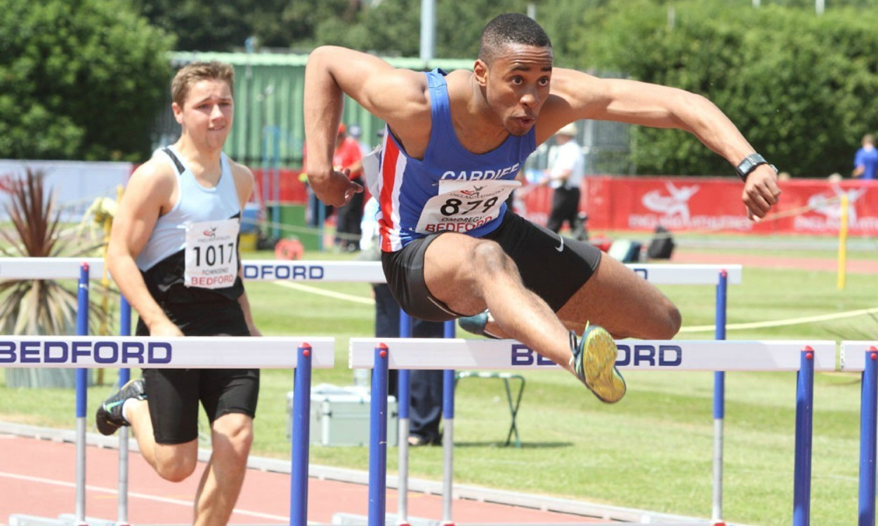 David Omoregie breaks European junior record in Bedford