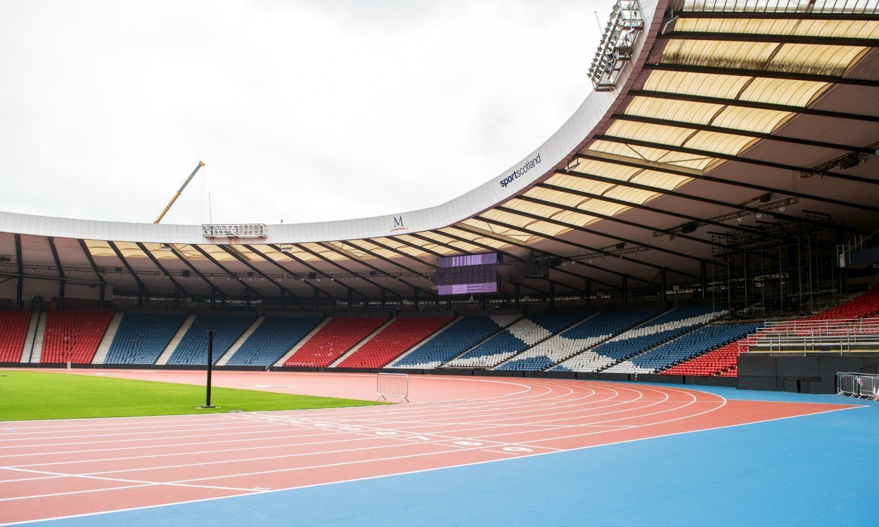 Hampden Park's completed transformation for Glasgow 2014 unveiled