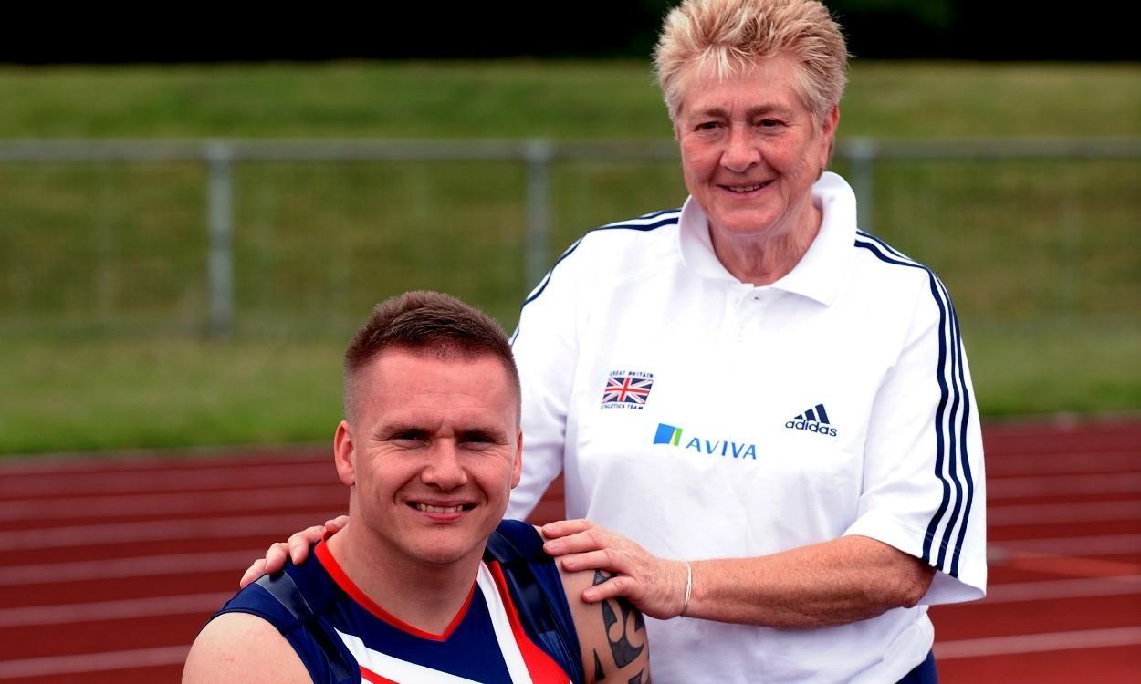 David Weir's coach Jenny Archer made an MBE