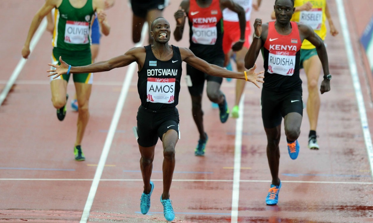 Amos and Rudisha rivalry could threaten magical barrier