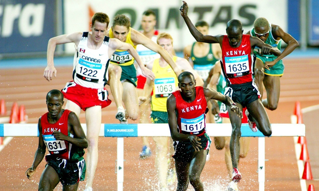 Commonwealth Games: Men's steeplechase