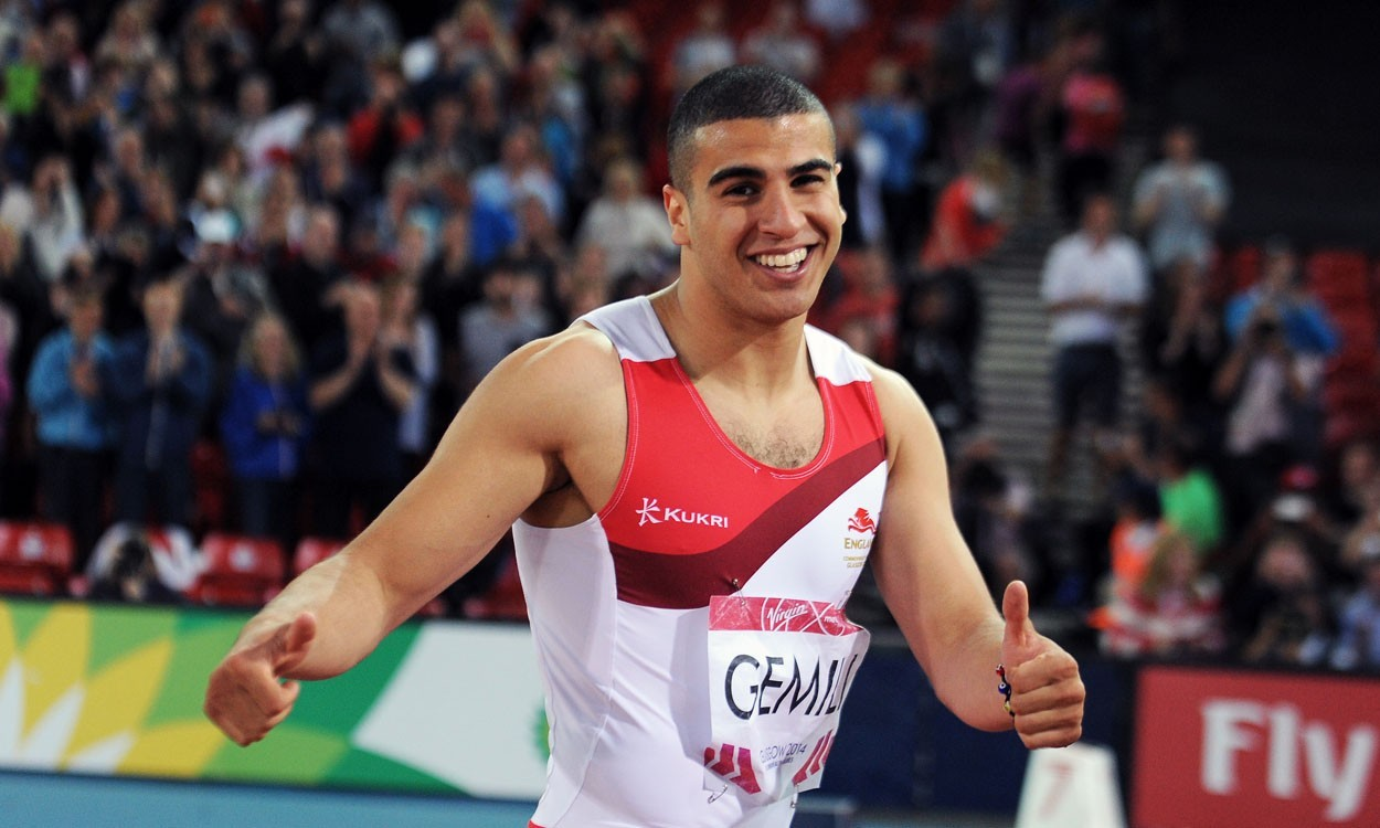 Adam Gemili delighted with 'stepping stone' silver