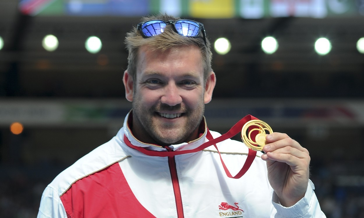 Gold for Greaves at Glasgow 2014