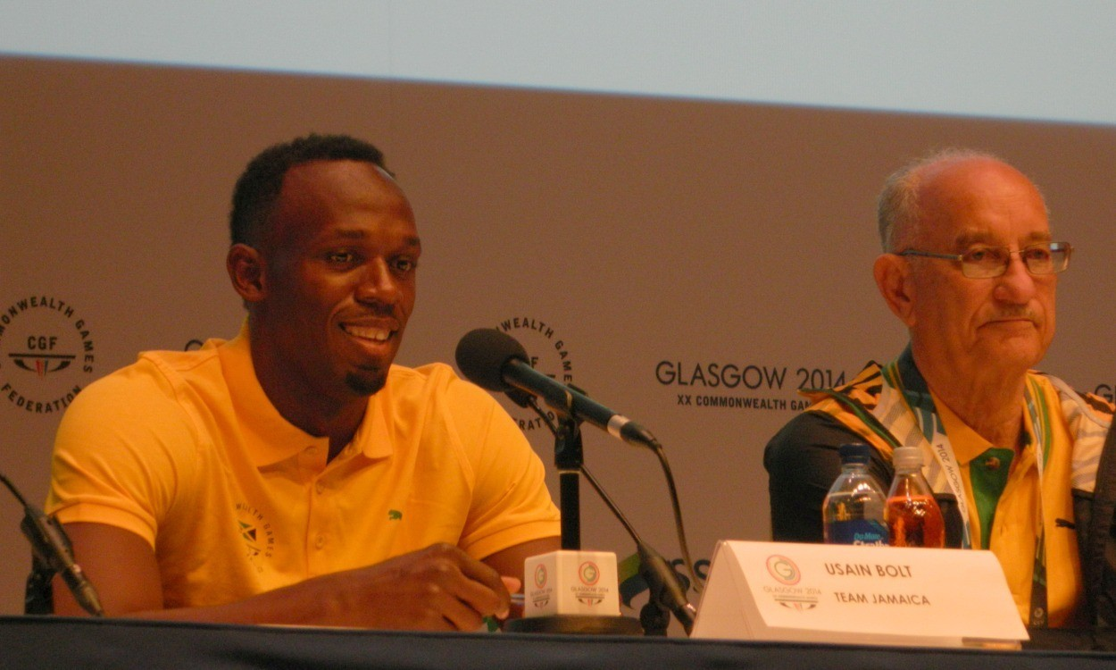 I'm in Glasgow to run, says Bolt