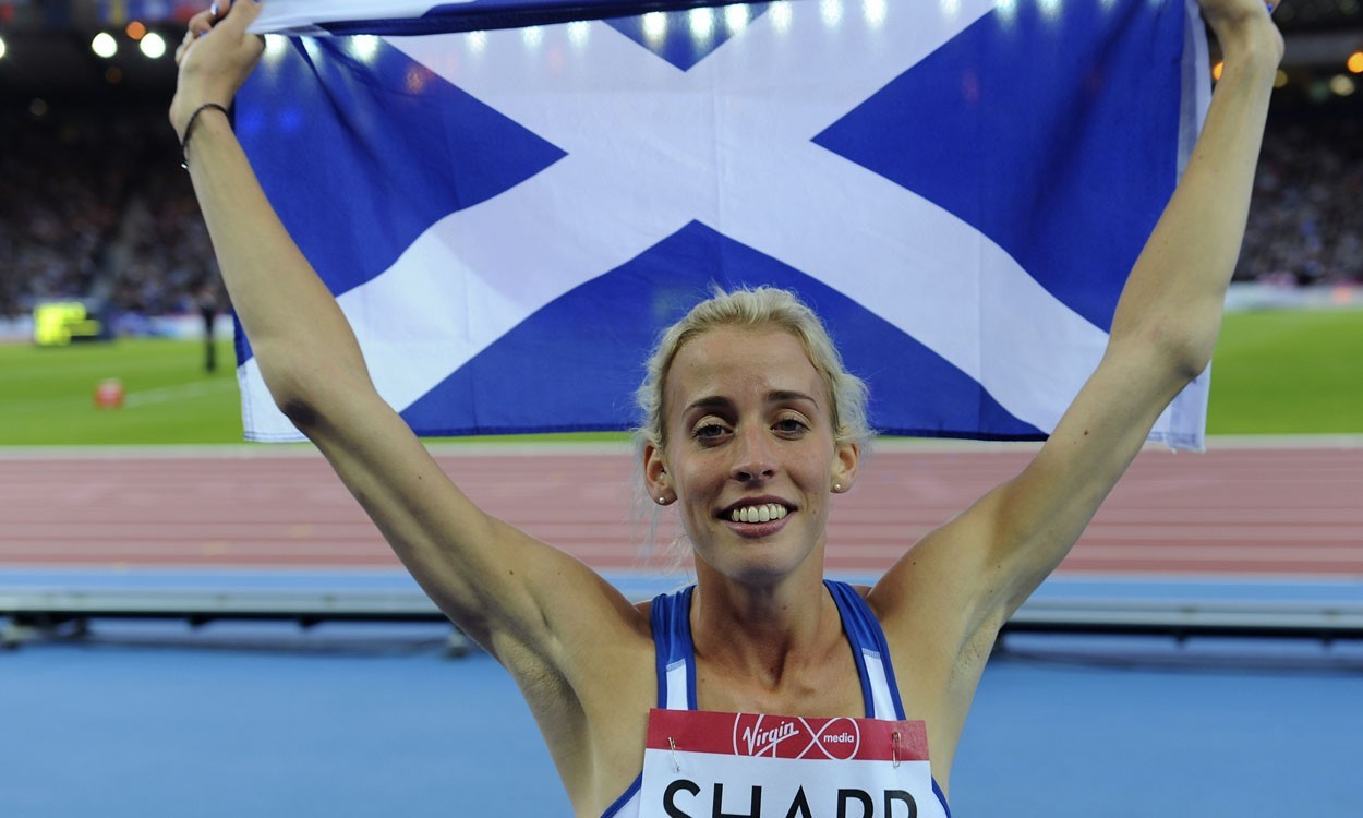 "Sick Sharp cites ""miracle"" comeback to secure silver in Glasgow"