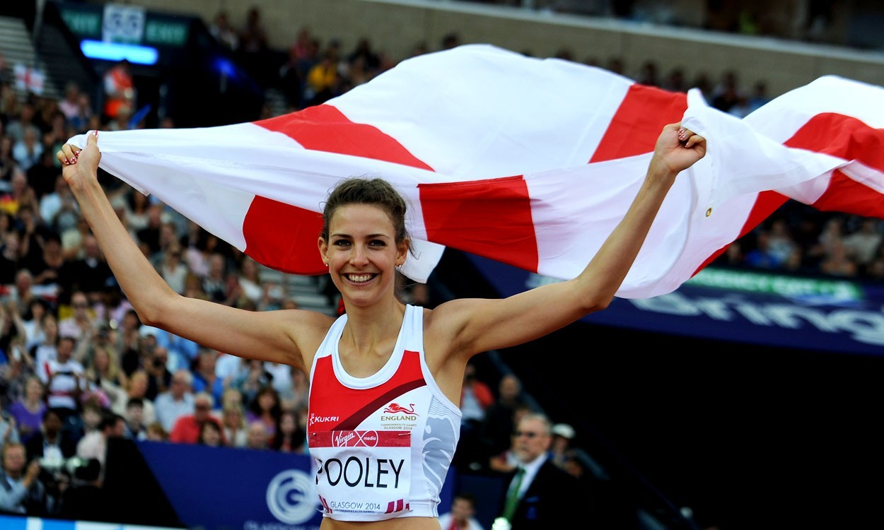 Isobel Pooley breaks British outdoor high jump record