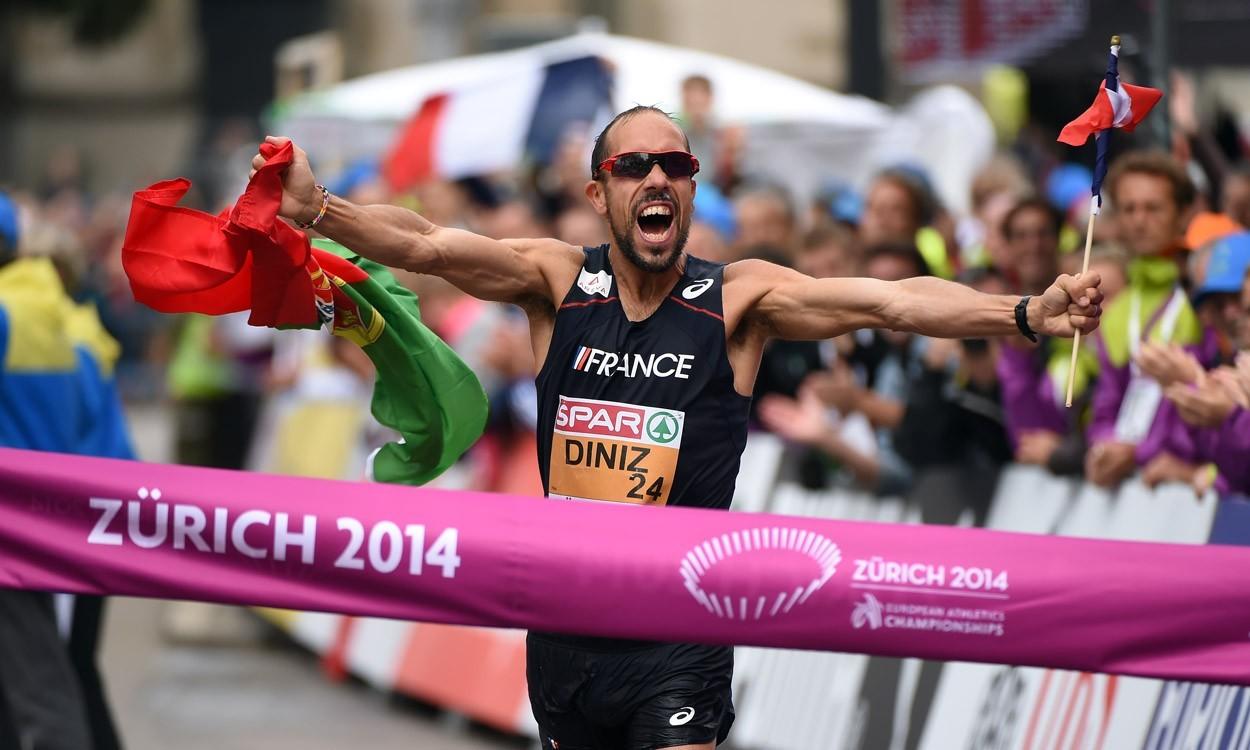 Yohann Diniz breaks 20km race walk world record