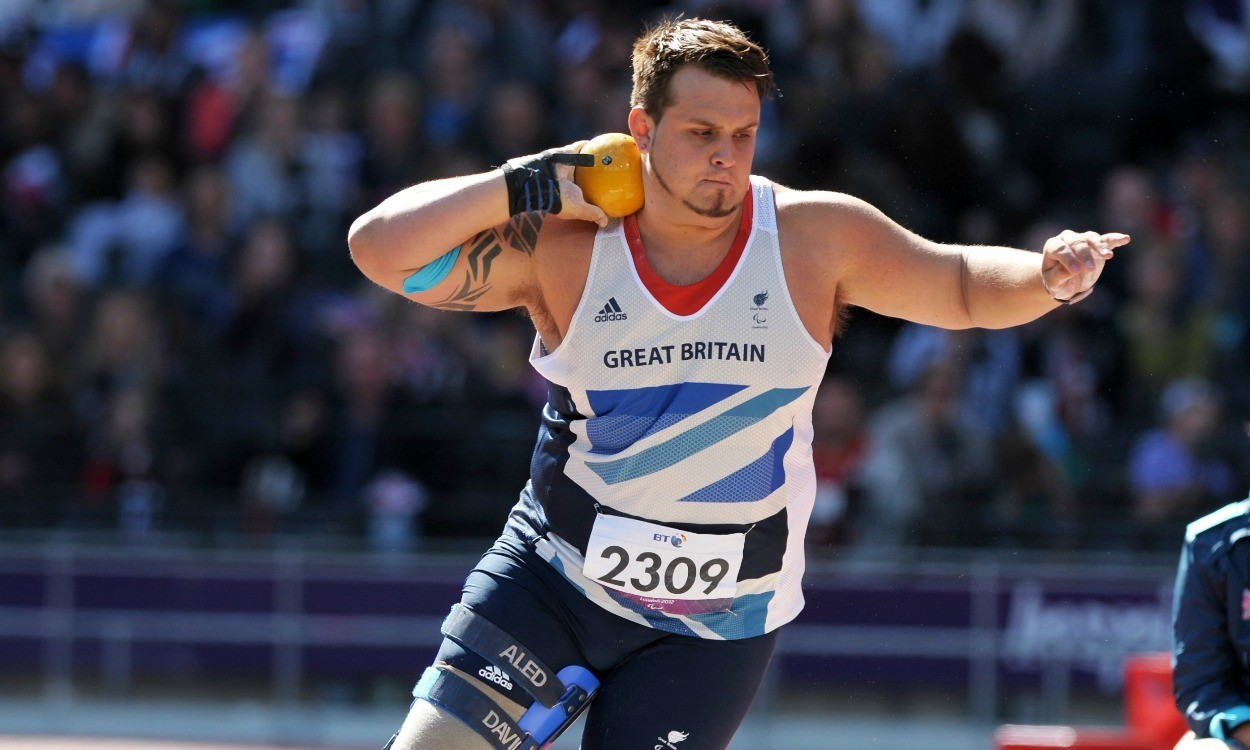 'Change is good,' says Paralympic champion Aled Davies