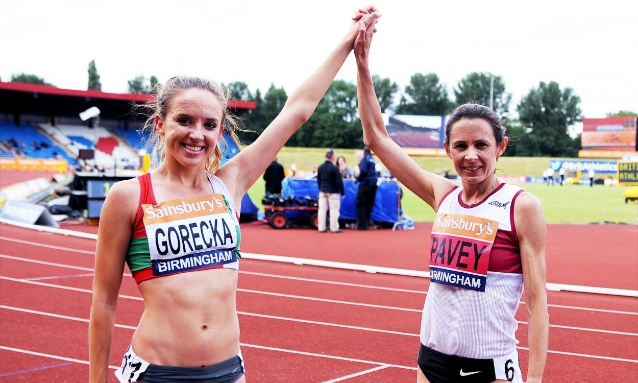 Emelia Gorecka among athletes at BMC GP in Oxford