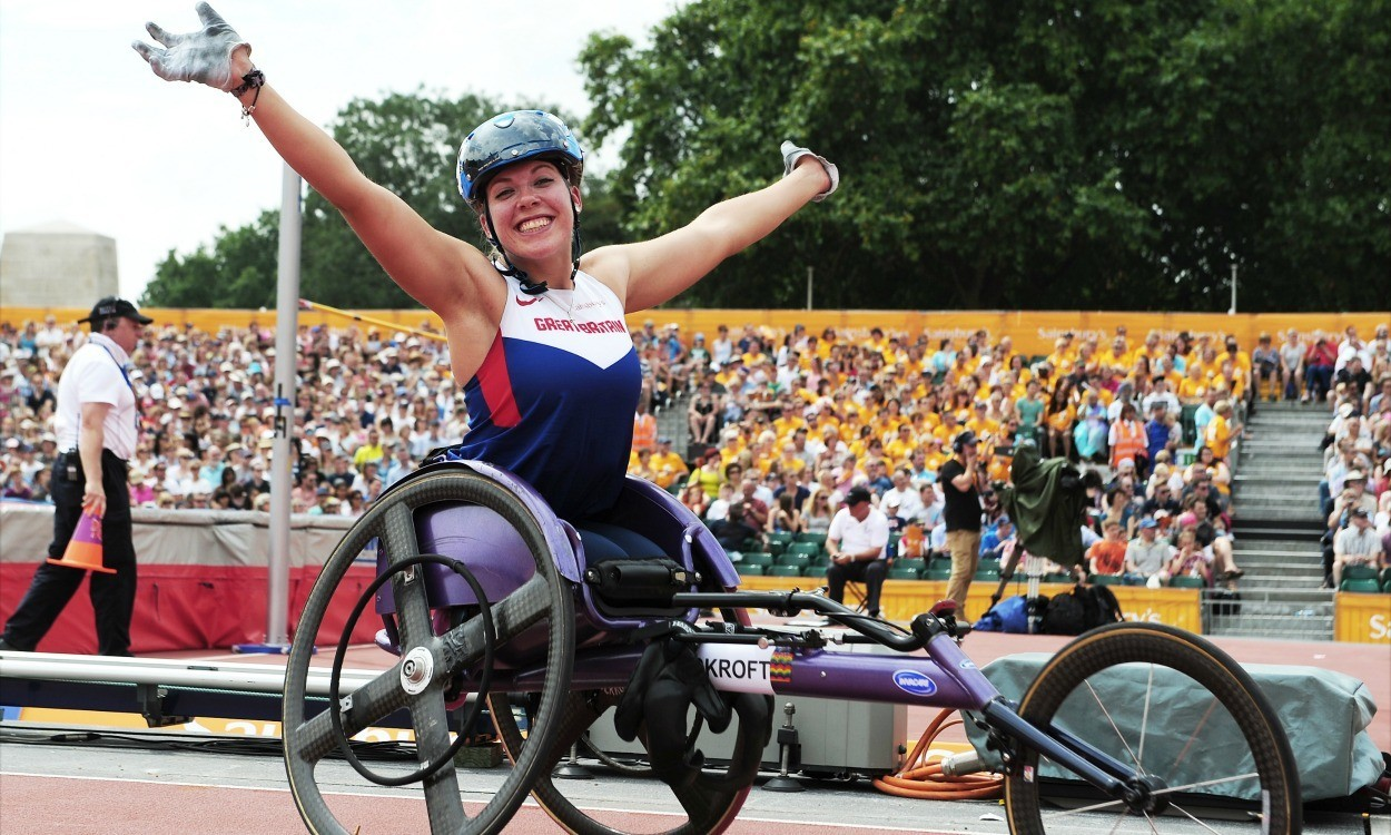 Hannah Cockroft and David Weir named on GB team for Rio 2016