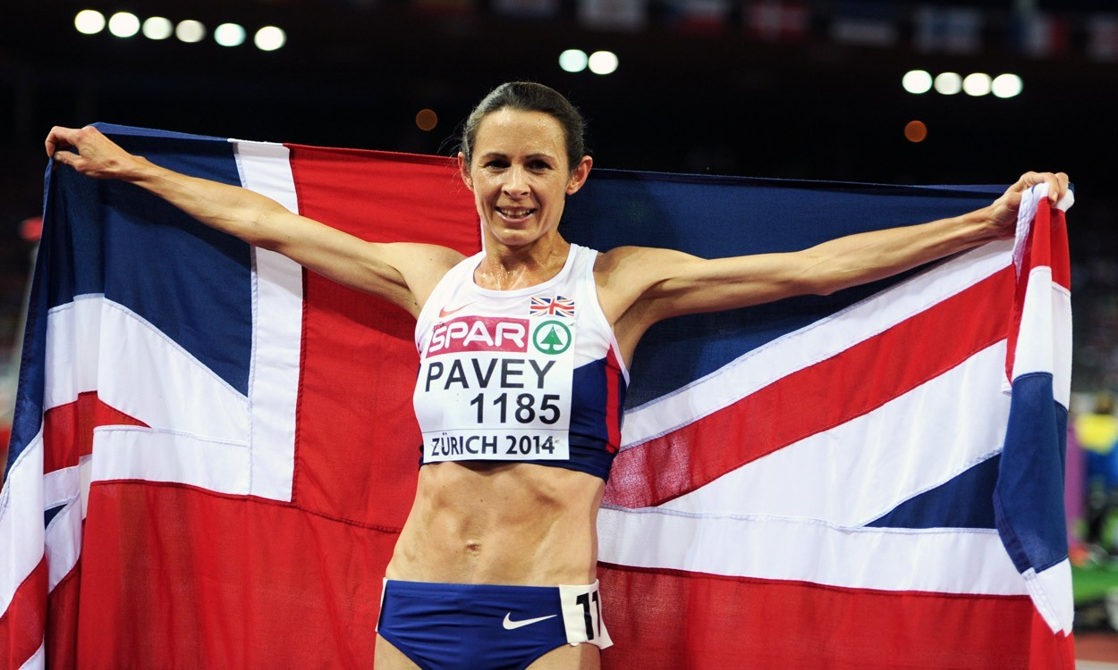 Jo Pavey in BBC SPOTY top three