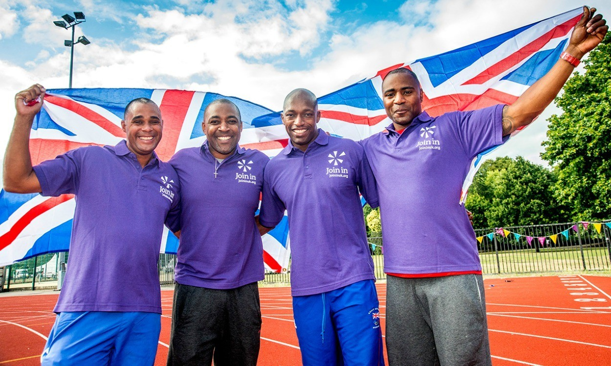 Olympic 4x100m stars Join In to launch Summer Relay