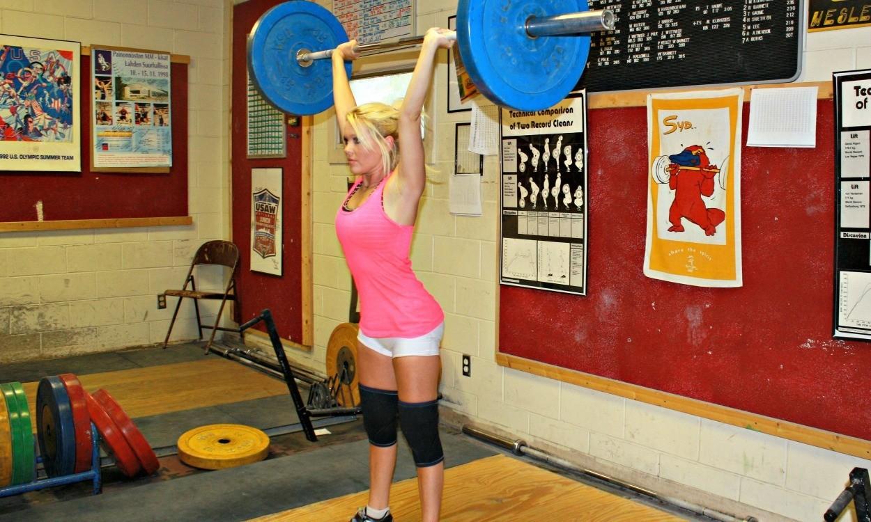 Strength: The overhead press