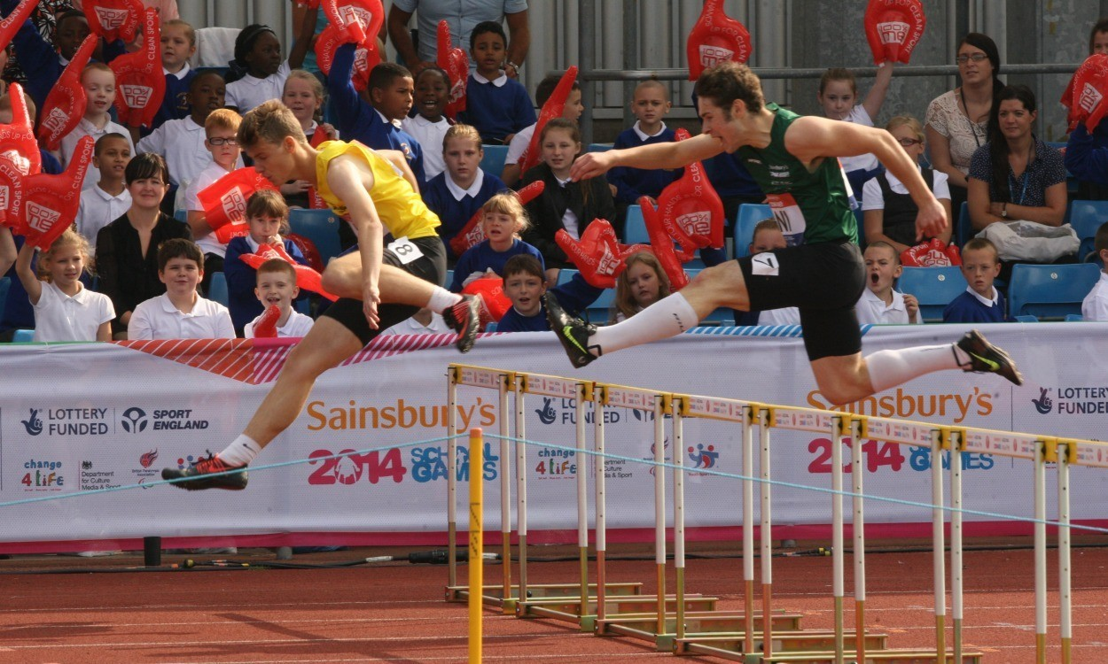 Athletes compete to be top of the class at Sainsbury's School Games